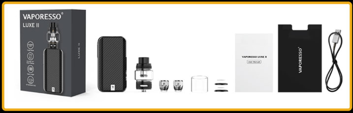 PACKAGING KIT LUXE 2 VAPORESSO